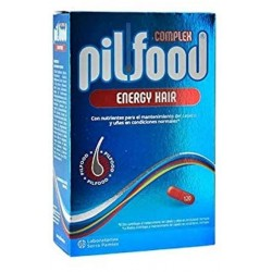 PILFOOD COMPLEX ENERGY HAIR 180 CAPSULAS
