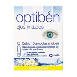 Optiben Ojos Irritados 10 uds