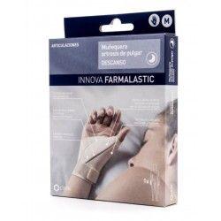 Muñequera Artrosis de Pulgar Farmalastic Descans Dcha T-  Med