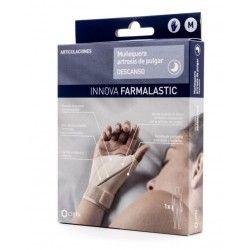 Muñequera Artrosis de Pulgar Farmalastic Descans Izda T-  Med