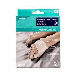 Corrector Juanete Descanso Farmalastic Feet Talla G