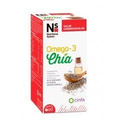 Ns Omega3 Chia 120Cap