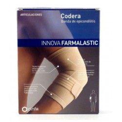 Codera Banda Epicondilitis Farmalastic Innova Contorno 13-16 T- Pequeño Beige
