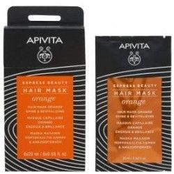 Apivita Mascarilla Capilar Naranja Shine & Revitalizing 20 ml
