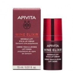 Apivita Wine Elixir Ojos y Labios Antiarrugas con Efecto Lifting 15 ml