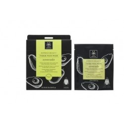 Apivita Express Beauty Tissue Face Mask Avocado 1 unidad