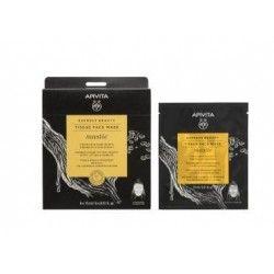 Apivita Express Beauty Tissue Face Mask Mastic 1 unidad