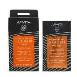 Apivita Express Beauty Face Mask Orange Iluminadora 2 x 8 ml