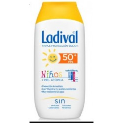 Ladival Niños y Piel Atopica Fps 50+ 200 ml