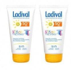 Ladival Niños Fotoprotector Fps 50+ Leche Fotopr Pack Duplo 200 ml+ 200 ml