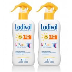 Ladival Niños Fotoprotector Fps 50 Spray Fotopro Pack Duplo 200 ml+ 200 ml