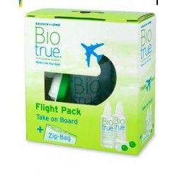 Biotrue Solucion Unica Flight Pack 60 ml 2 U