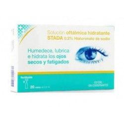 Care+ Solucion Oftalmica Hidratante 0.2% Hialuro 0.5 ml 20 Viales