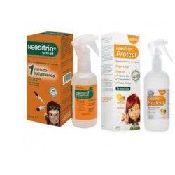 Pack Neositrin Protect + Neositrin 1 Spray Gel L 100 ml+ 60 ml