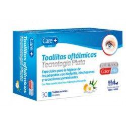 Care+ Toallitas Oftalmicas Tecnologia Plata 30 Toallitas