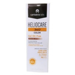Heliocare 360 SPF 50+ Gel Oil-Free Bronce Intense 50 ml