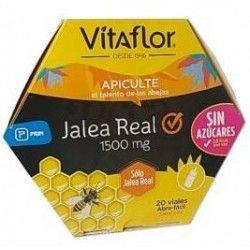 Vitaflor Jalea Real Pura Sin Azucares 20 Viales Bebibles de 10 ml