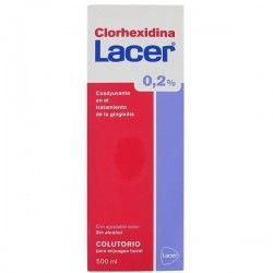 Lacer Colutorio Clorhexidina 0.2% 500 ml