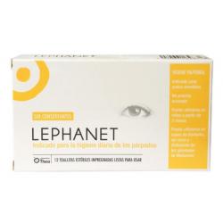 Lephanet Toallitas Limpiadoras Ojos 12 Toallitas Esteriles