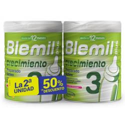 Blemil Plus 3 Crecimiento 2 Envases 800 g Pack Descuento