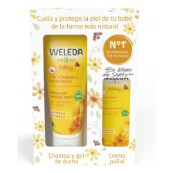 Pack Weleda Champu+Pañal 30 ml.