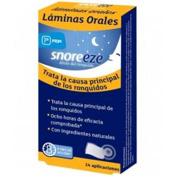 SNOREEZE LAMINAS ORALES