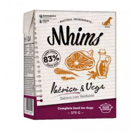 Mhims Iberico & Vegs 375 gr Dingo Natura
