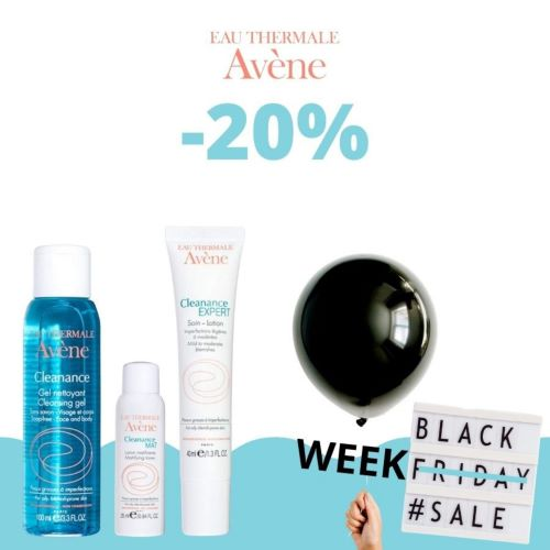 Eau thermal avene oferta black friday
