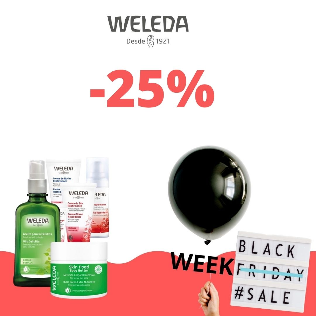Weleda oferta black friday